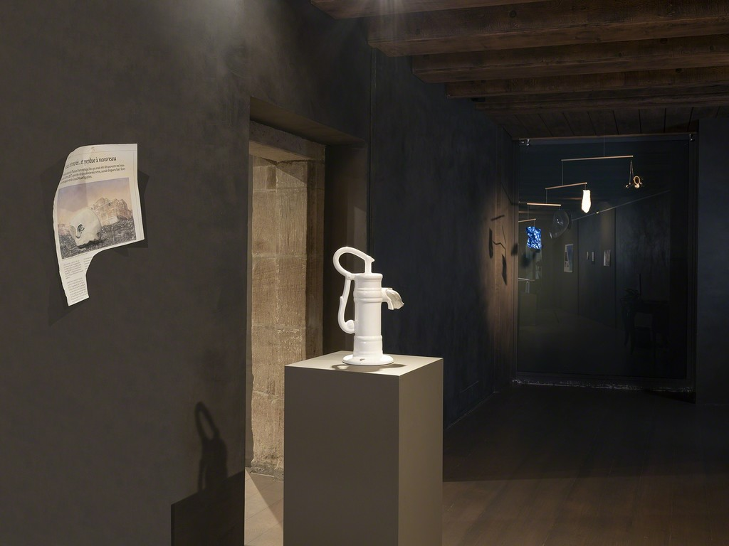 Installation view at Artvera's, works by Laetitia de Chocqueuse.