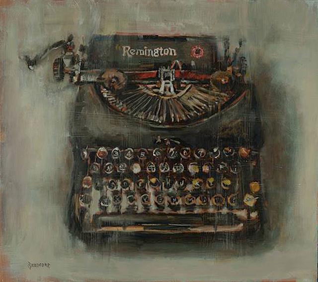 Bradford J. Salamon, 'A Remington Still Machine', 2019, Sue Greenwood Fine Art