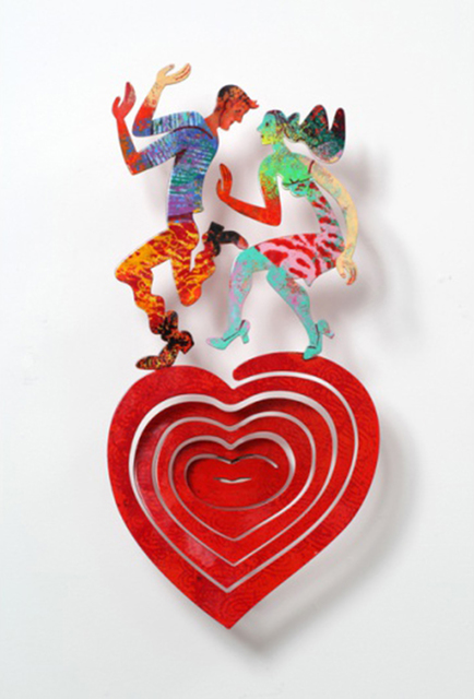 , 'Swinging Heart ,' 2011, Galerie Duret