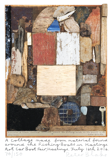 Peter Blake, 'Hastings Collage', 2016, Tate Ward Auctions