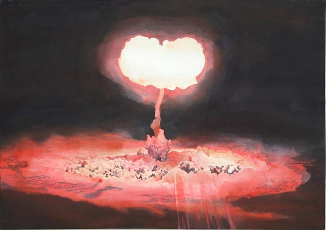 , 'Red Explosion,' 2016, Kopeikin Gallery