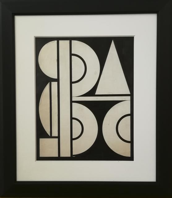 , 'Un (One),' ca. 1952, Galerie Calderone