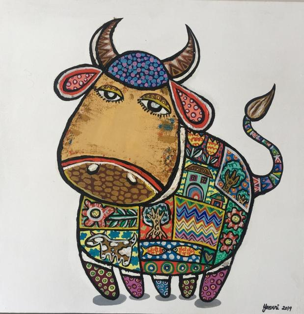 Yeanni Koo, 'Cutie Cow 2', 2019, Art WeMe Contemporary Gallery