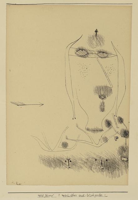 Paul Klee, '!Weh über euch Wischgeister! (Alas Over You Rag-Spirits!)', 1925, Moeller Fine Art