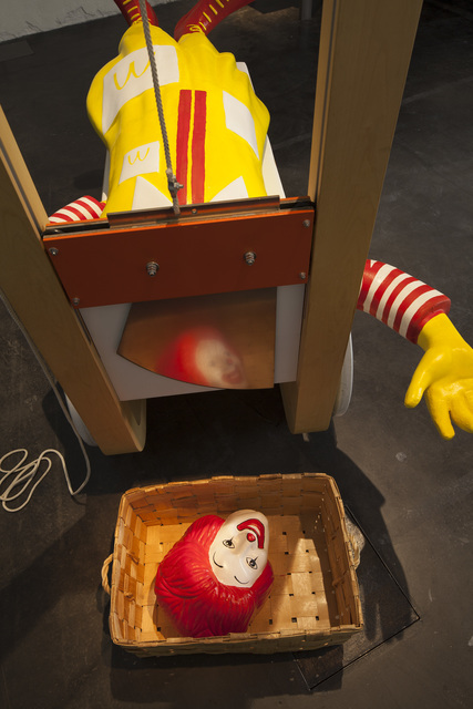 , 'Ronald and the Guillotine,' 2011, Kiasma Museum of Contemporary Art