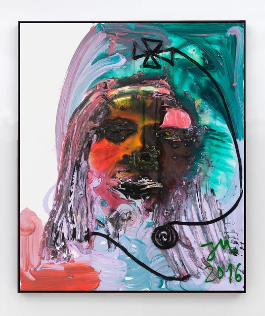 Jonathan Meese, 'DU, GROB GESAGT, TIER GEMACHT', 2016, Sies + Höke