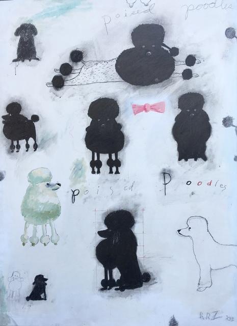 , 'Poised Poodles,' 2003, Dog & Horse Fine Art