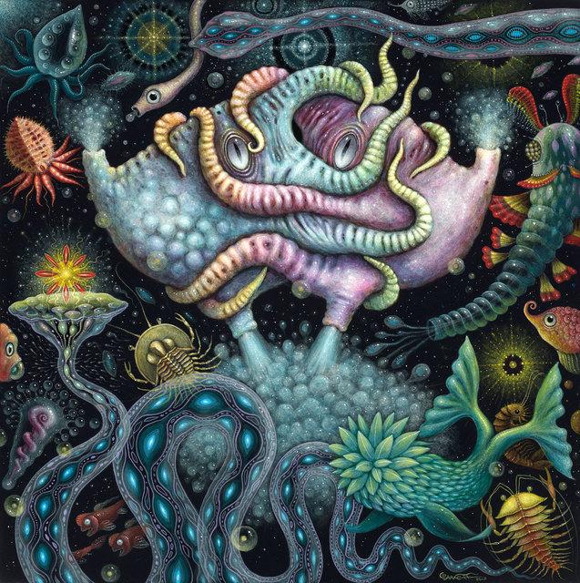 , 'Cephalopods II,' 2017, William Baczek Fine Arts