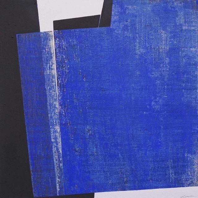 , 'Pieza azul hendida,' 2017, Artig Gallery