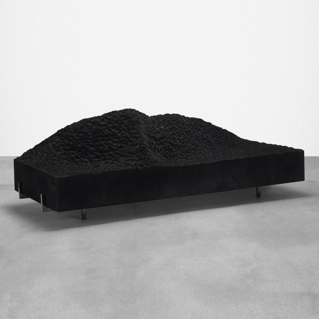 Patrik Fredrickson, 'Pyrenees sofa', 2007, Design/Decorative Art, Polyurethane foam, flocked fibers, enameled steel, Rago/Wright