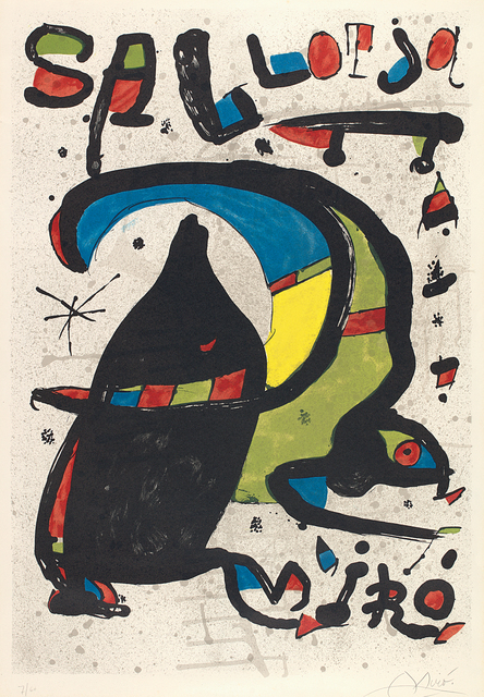 Joan Miró, 'Joan Miró Pintura Sa Llotja (Palma de Mallorca) (Joan Miró Paintings at Sa Llotja in Palma de Mallorca)', 1978, Phillips