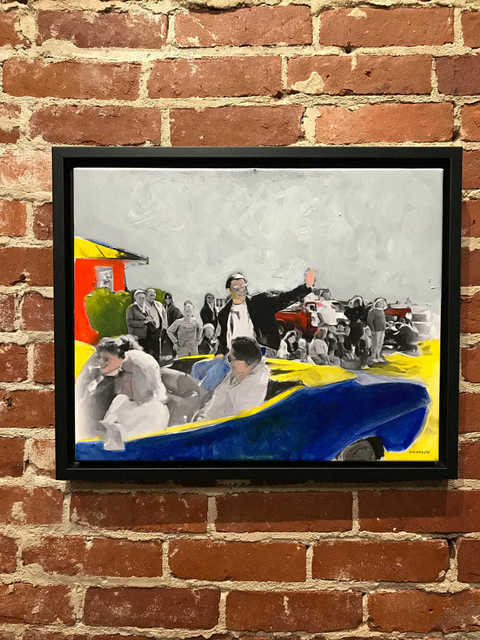 , 'Tommy Sands in a Small Town Parade,' 2018, Mason-Nordgauer Fine Arts Gallery