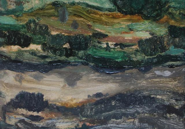 , 'The Pentlands, Evening,' 1953, The Scottish Gallery