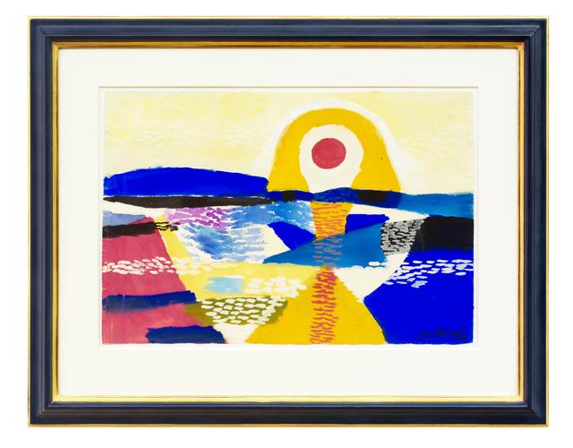 , 'Sonnenuntergang (Sundown),' 1941, Hagemeier