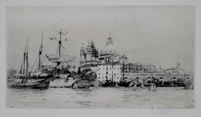 William Walcot, 'Giudecca No. 2, Venice', 1913, Private Collection, NY