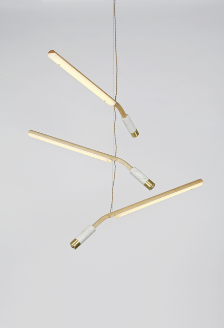 , 'Counterweight Mobile Light,' 2012, Museum of Arts and Design