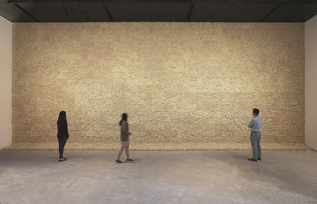 , 'Moss wall,' 1994, Leeum, Samsung Museum of Art