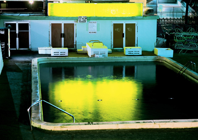 David Drebin, 'Yellow Pool', 2001, Photography, C-Print, CAMERA WORK