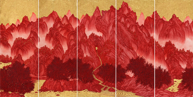, 'Brain Landscape II: Eternity ,' 2015, Tina Keng Gallery