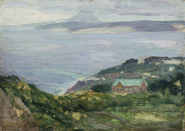 , 'Coastal Landscape, France,' 1912, Michael Rosenfeld Gallery