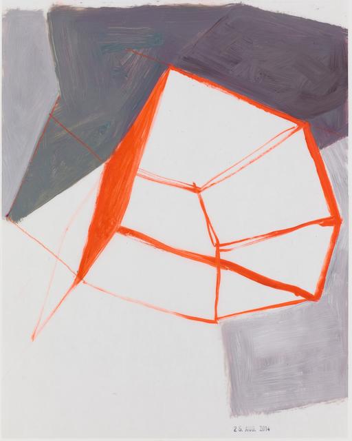 , 'Raum und Grau ,' 2014, Galerie Heike Strelow