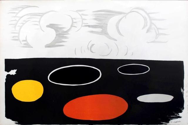 Alexander Calder, 'Maree Basse (Low Tide)', 1974, Kunzt Gallery