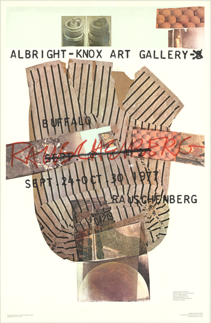 Robert Rauschenberg, 'Albright-Knox Art Gallery', 1976, ArtWise