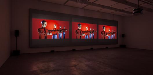 Kraftwerk, '3-D Video-Installation – 1 2 3 4 5 6 7 8, Installation View Sprüth Magers Berlin,' 2013, Sprüth Magers