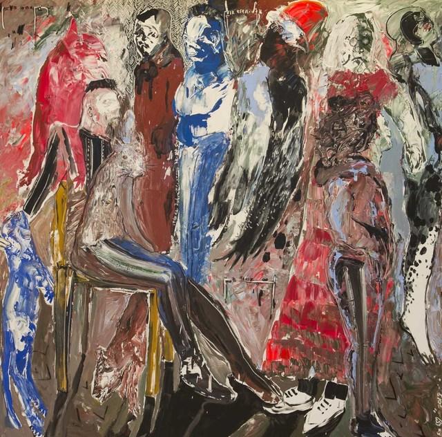 , 'Des Hommes et Des Vies VI,' 2017, Sulger-Buel Lovell