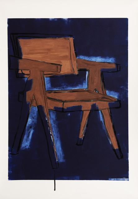 , 'Stuhl (Nachtbild),' 2016, Galerie Peter Kilchmann