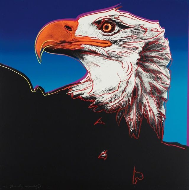 Andy Warhol, 'Bald Eagle, from Endangered Species', 1983, David Benrimon Fine Art