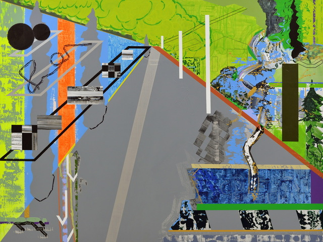 Jin Jinghong 金景鸿, 'Road', 2017, Painting, Acrylic on Canvas, Asia Art Center