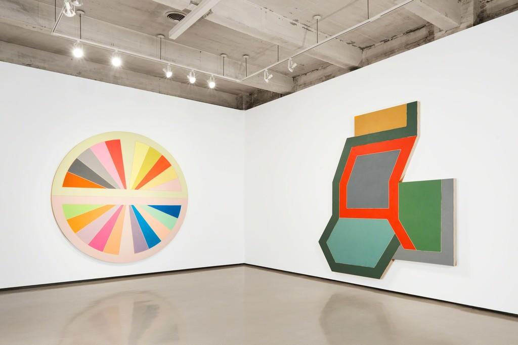 Shape And Form In Design : Frank stella shape as form paul kasmin gallery artsy