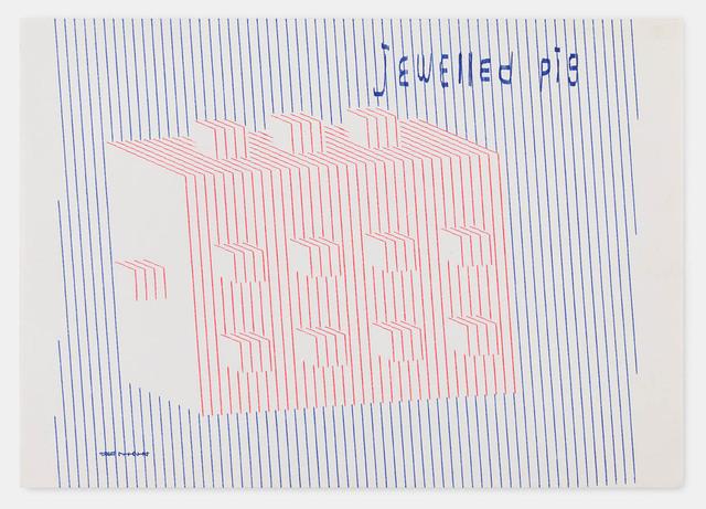 , 'jewelled pig 711214,' 1971, Richard Saltoun