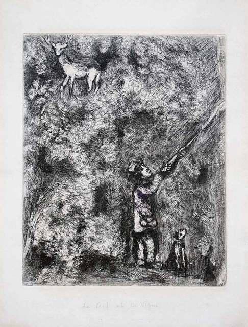 Marc Chagall, 'Le Cerf et la Vigne', 1930, Wallector