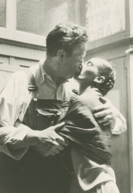 , 'Frida and Diego Kissing,' 1933, Bentley Gallery