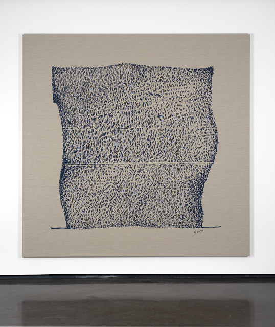 Ibrahim El-Salahi, 'Pain Relief', 2019, Print, Unique silkscreen on calendered Belgian Linen, Vigo Gallery