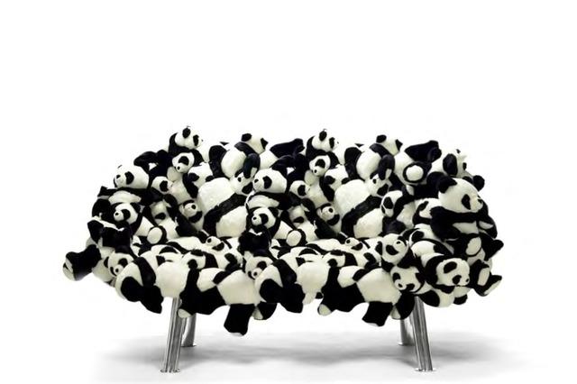 , 'Panda Sofa,' 2015, Galerie Clemens Gunzer