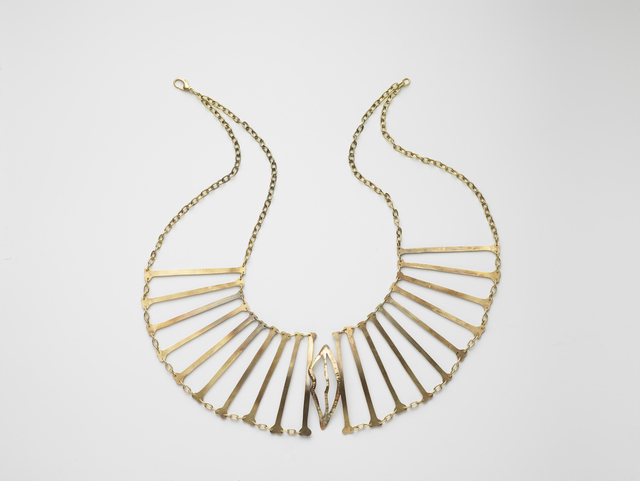 , 'Bone Necklace with mouth,' 2014, design from 1935, 1936, Elisabetta Cipriani