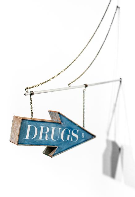 Drew Leshko, 'Drugs (Blue Arrow, silver trim)', 2019, Paradigm Gallery + Studio