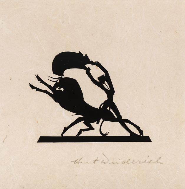 , 'Matador and Bull,' likely 1930s, Hirschl & Adler