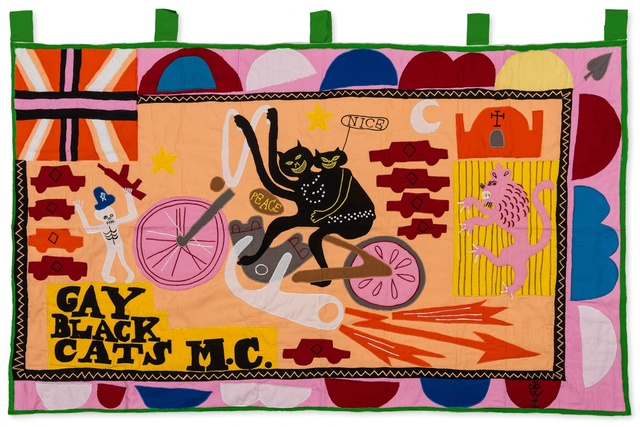 Grayson Perry, 'Gay Black Cats MC', 2017, Forum Auctions