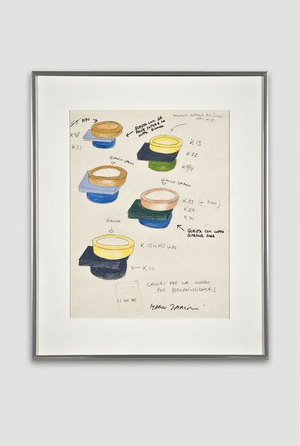 , 'Presentation Drawing of Broccoli Bowl for Bloomingdale's,' 1985, The Modern Archive