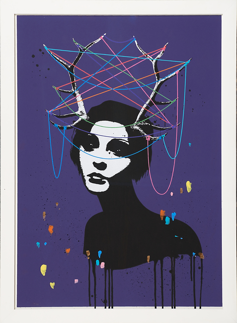 Eelus, 'The Taming of the Wild Mind', 2016, Print, Handfinished screenprint in colors, Rago/Wright