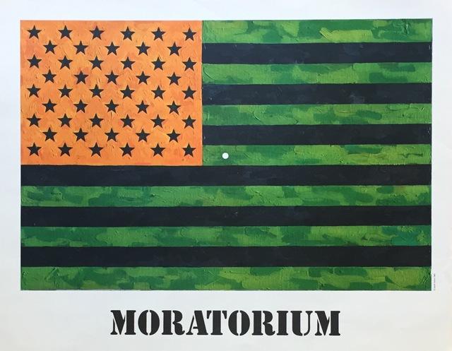Jasper Johns, 'Moratorium', 1969, Posters, Offset lithograph, Kwiat Art