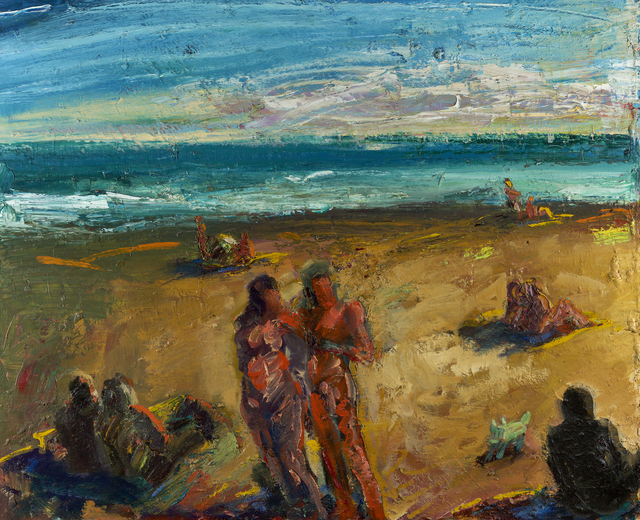 , 'Sunset Beach,' 1983, Debra Force Fine Art