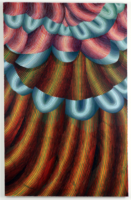 , 'Reverse Splinters,' 2018, DC Moore Gallery