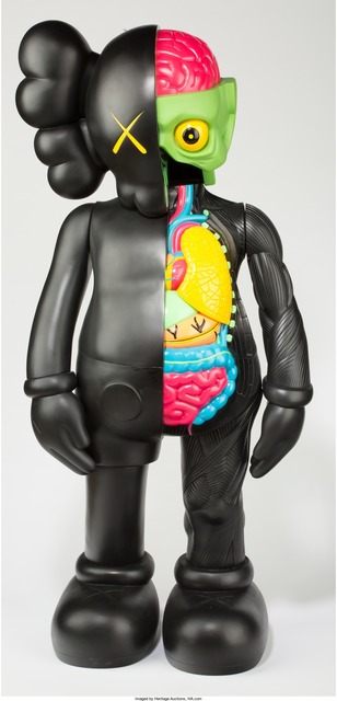 KAWS, '4 foot dissected companion (black)', 2009, Heritage Auctions