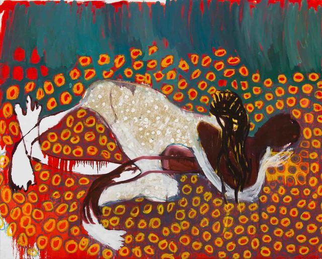 , 'I Can Feel it in My Eyes (2),' 2015, Galerie Hans Mayer