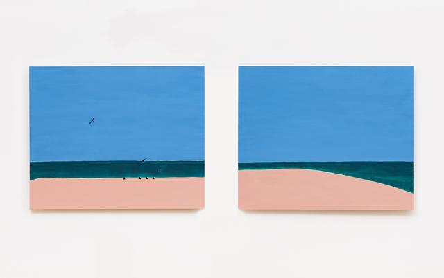 , 'Atol I / Atol II,' 2014, Mendes Wood DM